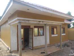 A newly constructed 3bedroomed house for rent in bweyogerere at 700k