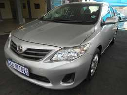 2012 Toyota Corolla 1.3 Professional for R134000.