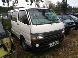 Toyota hiace quick sell
