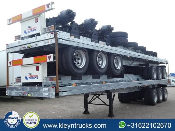 Schmitz Cargobull S. HD. TWISTLOCKS twin tire full steel - 2018