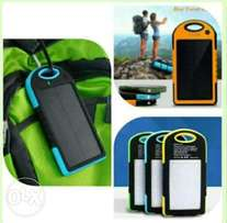 2in1 solar/electric powered power banks