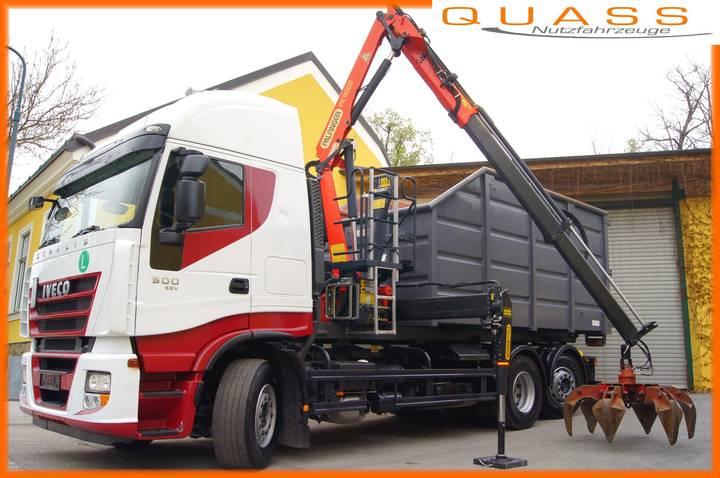 Iveco STRALIS 260S50/6x2/EEV/TÜV/MEILLER/Schrottkrancontainer - 2010