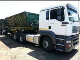 34 Ton Side-Tippers Trucks Required Urgently