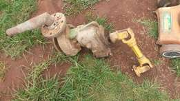 2004, water pump with fittings