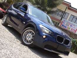 BMW X1 blue colour 2010 model excellent condition