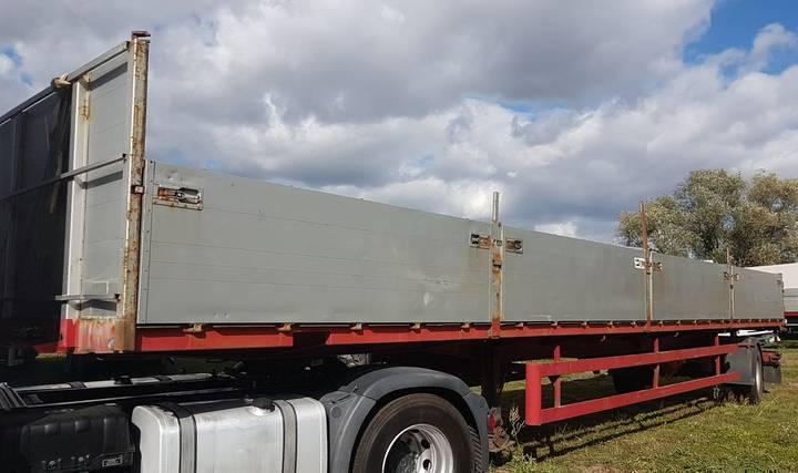 Blumhardt SAL 24122 S BPW 19 Tonnen Lenk Achse TOP ZUSTAND - 1984