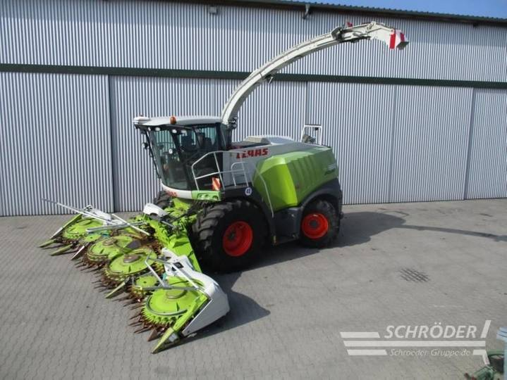 Claas jaguar 950 tier 4i - 2012