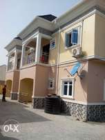 Newly built 2bedrooms at Dutse opp sukale garden 750k