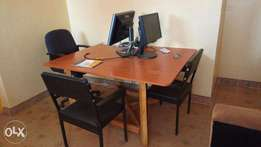 WORKSTATION - TABLE and 5 SEATS on quicksale!