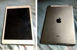 Clean white iPad Air, WiFi and cellular, 16GB for sale