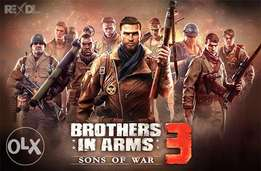 Brothers in Arms 3, game for android