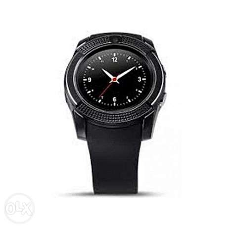 "V8 1.22"" Round Screen MTK6261 IP65 Android Bluetooth Smart Watch With Nairobi CBD - image 2"