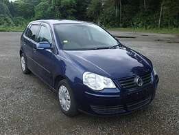 volkwagen polo dark blue
