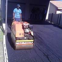 Quality guaranteed tar surfaces /driveways & parking areas.