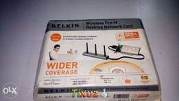 Belkin Wireless pre-n Desktop Network card