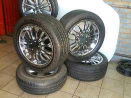 "20""mags set with tyres"