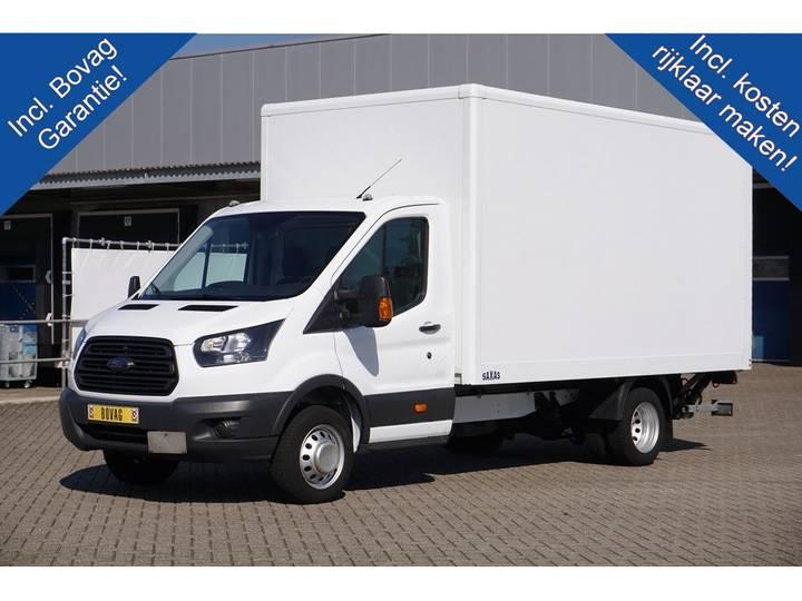 Ford Transit 350 2.0 TDCI 130PK Ambiente Bakwagen Dhollandia L... - 2017