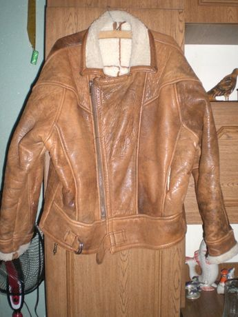 Зимова шкіряна куртка-косуха  1 700 грн. - Чоловічий одяг ... 5118d30ab19e4