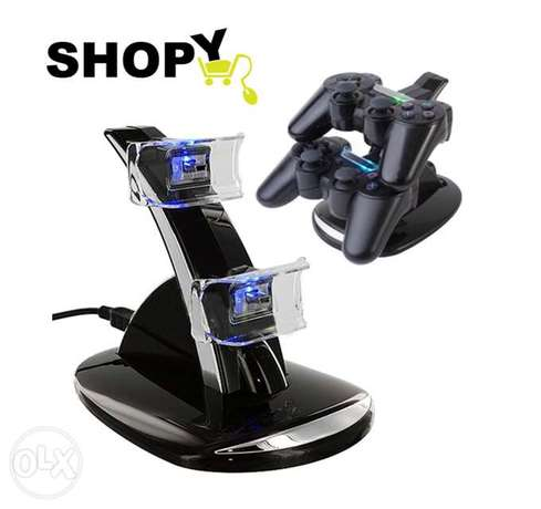 USB Charger Docking Station Charging Stand for Sony Playstation 4