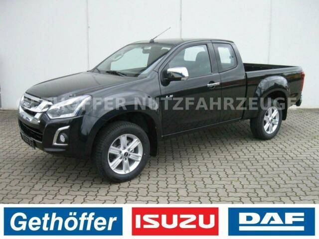Isuzu D Max Space Cab Custom AT Euro 6 AHK Last 3,5t