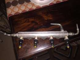 Toyota 4age twincam16 injector rail with 1600cc injectors