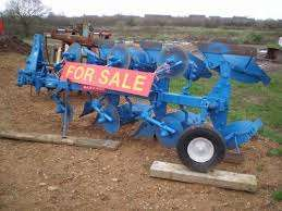 MF2, 3,4 furrow plough