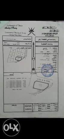 Super 4 sides corner plot forsale Barka Hay Al Asm. For Chalet or Farm