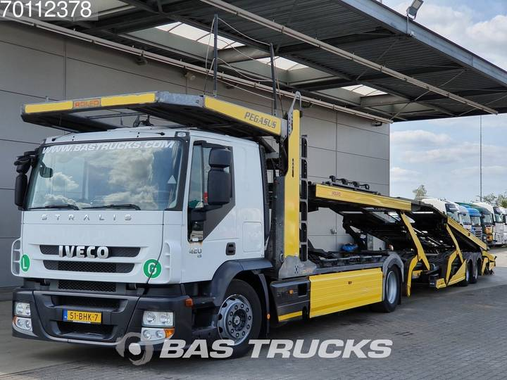Iveco Stralis AT180S42 4X2 Intarder Standklima Euro 5 Rolfo Aufbau - 2009