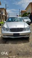 2004 model,Mercedes Benz C320,automatic gear,tokunbo