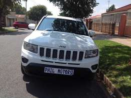 2013 Jeep compass 2.0 LTD automatic, mileage 165000 for sale