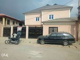 Executive two bedroom apartment at fagba/abule-egba