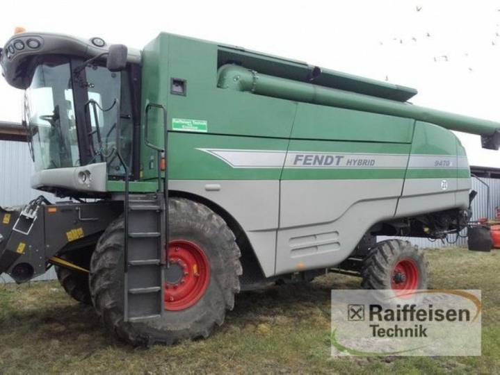 Fendt 9470x - 2011