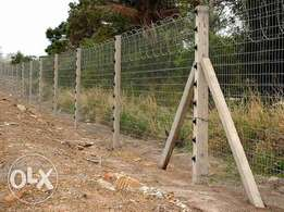 we do installation maintenance and supply of electric fence and laser