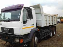 MAN M2000 10Cube tipper on special