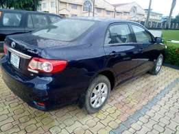 2012 model Toyota corolla brought brand new clean used