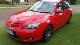 Very clean mazda 1.6 with full service book and 2 remot spare keys