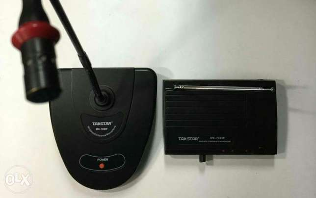 Takstar wireless microphone desktop conference with transmitter