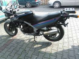 An affordable Kawasaki Motorcycle, price is negotiable