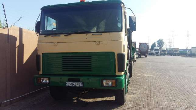ERF crane truck with 8500kg working crane and a 12 ton drawbar trailer Germiston - image 3