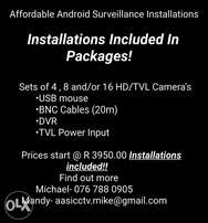 Affordable Android Surveillance Installations