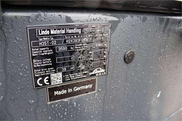 Linde H 35 T-02 - 2015 - image 5