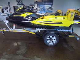 seadoo rxt 260 on trailer 55 hours