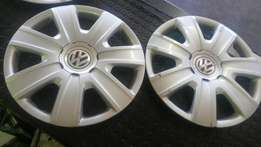 VW wheelcovers 15'