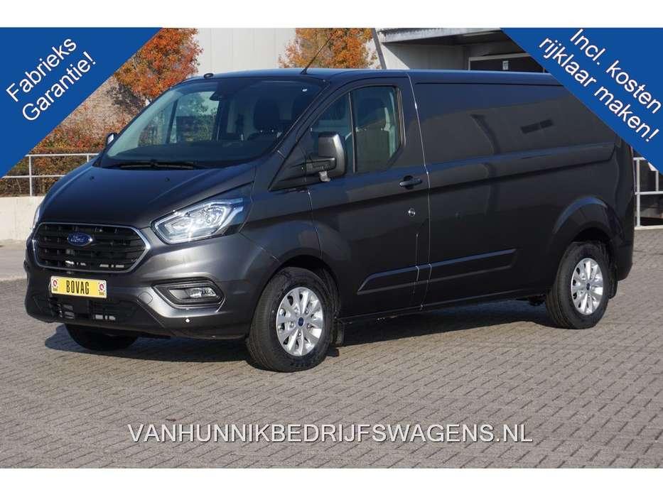 Ford Transit Custom 300L 170PK 2.0 TDCI Limited Automaat Airco... - 2019