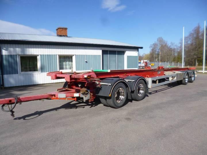 Närko 4axl Lastväxlarsläp D4yf51h11 - 2009