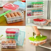 Double egg crate with lid
