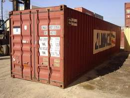 New and used shipping containers for sale.