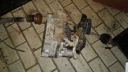 VW Polo 6 Complete Gearbox in a perfect working Condition!