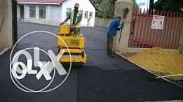 excellent tar surface& paving