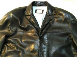 CHRISTIAN BERG Stockholm куртка 54-58 шкіряна кожаная пиджак жакет 95ffd9b8e018e